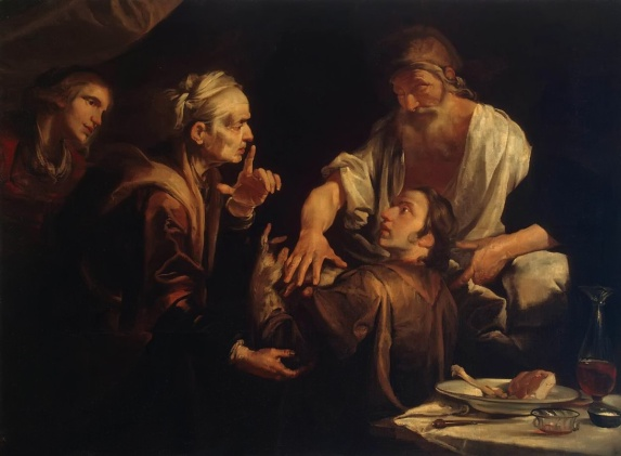 Image result for jacob stealing blessings from esau